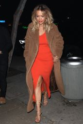 Rita Ora - at Giorgio Baldi Italian Restaurant in Santa Monica 2/1/ 2017