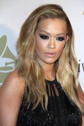 Rita Ora – Clive Davis Pre-Grammy 2017 Party in Beverly Hills