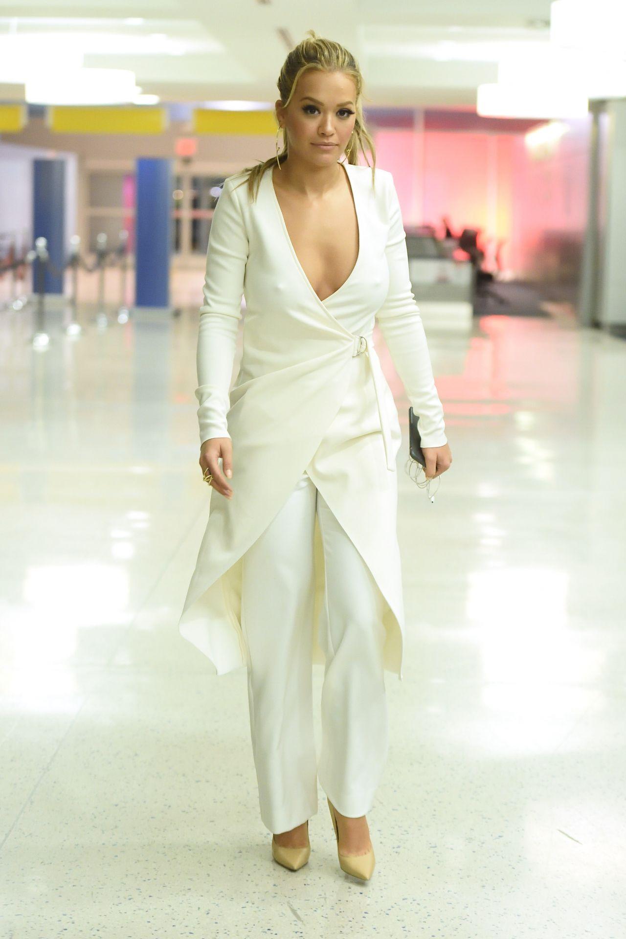 Rita Ora - JFK Airport in New York 2/7/ 2017