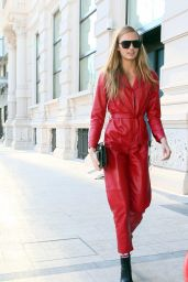 Romee Strijd - Entering Grand Hotel Gallia in Milan 2/25/ 2017