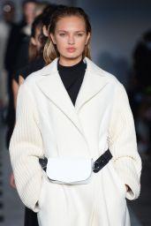 Romee Strijd Walks Sportmax Show - Milan Fashion Week, Italy 2/24/ 2017