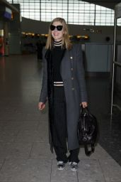 Rosamund Pike - Departs Heathrow Airport to New York  2/3/ 2017