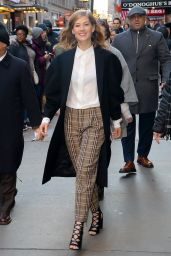 Rosamund Pike - Good Morning America Show in NYC 2/6/ 2017
