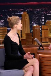 Rosamund Pike - The Tonight Show Starring Jimmy Fallon in New York City. February 2017