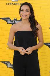 Rosario Dawson – 'The LEGO Batman Movie' Premiere in Los Angeles 2/4/ 2017