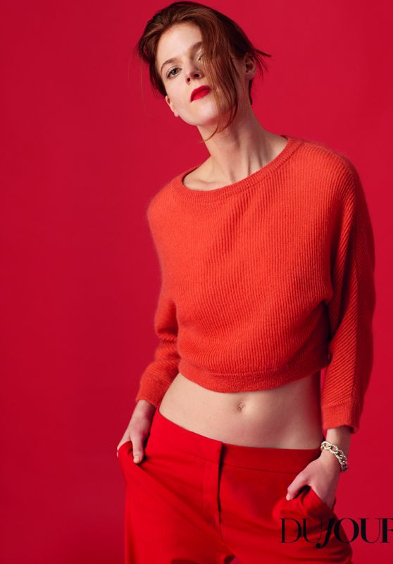 Rose Leslie - DuJour Magazine Spring 2017 Photos