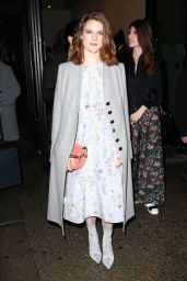 Rose Leslie Style - Leaving Her Hotel in New York 2/ 12/ 2017