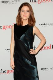 Rose Leslie – 'The Good Fight' Premiere in New York 2/8/ 2017