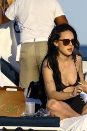 Rumer Willis in Bikini - Beach in Miami 2/5/ 2017