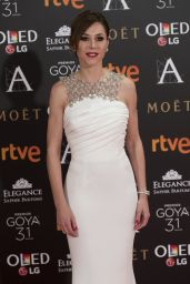 Ruth Diaz – Goya Cinema Awards at the Marriott Auditorium in Madrid 2/4/ 2017