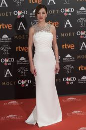 Ruth Diaz – Goya Cinema Awards at the Marriott Auditorium in Madrid 2/4/ 2017