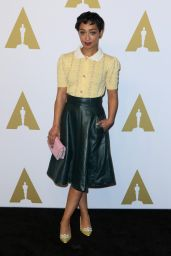 Ruth Negga – Oscar Nominee Luncheon in Los Angeles 2/6/ 2017