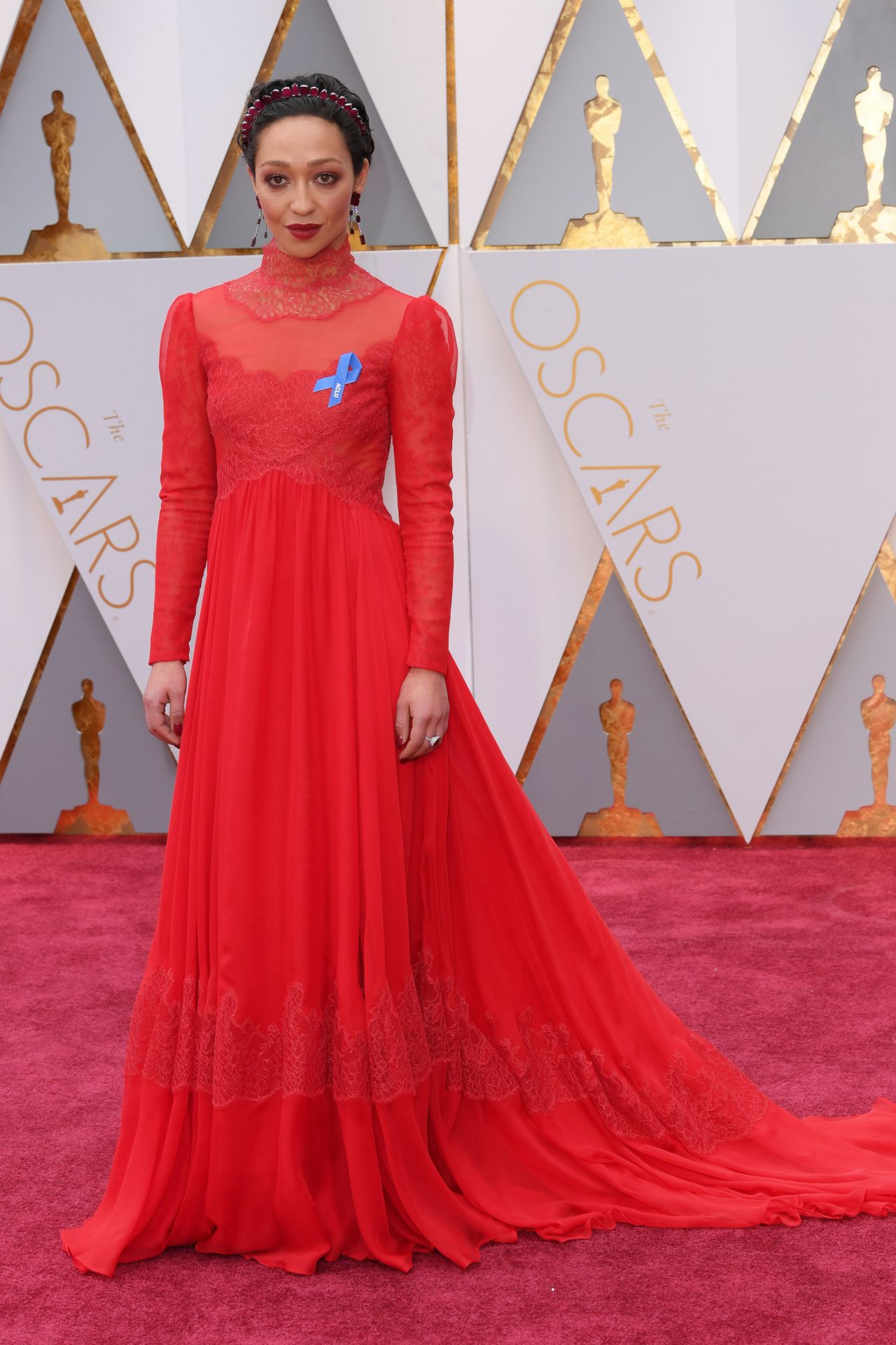 Ruth Negga Oscars 2017 Red Carpet In Hollywood