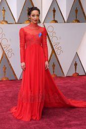 Ruth Negga – Oscars 2017 Red Carpet in Hollywood