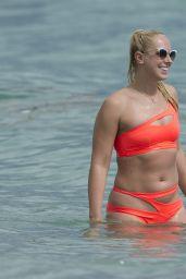Sabine Lisicki - Enjoys a Day in Bikini on Miami Beach 2/3/ 2017