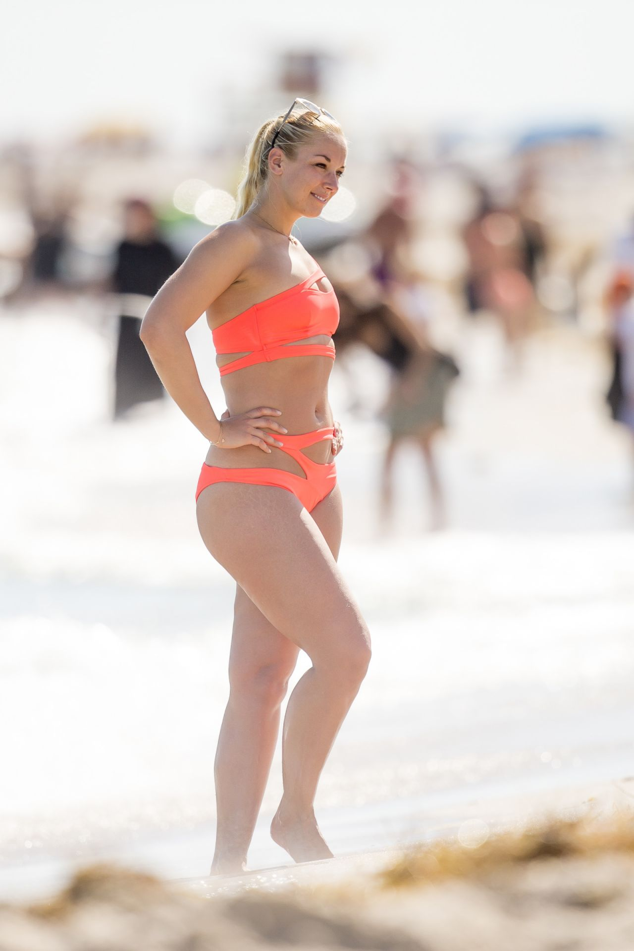 Sabine Lisicki Enjoys A Day In Bikini On Miami Beach 2 3