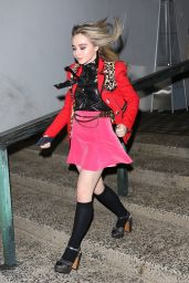 Sabrina Carpenter - Arrives at the Marc Jacobs Private Party in NYC 2/15/ 2017