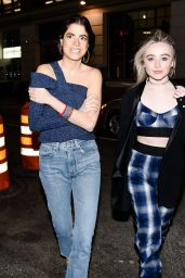 Sabrina Carpenter - Baja East and Spring Party at New York Fashion Week 2/14/ 2017