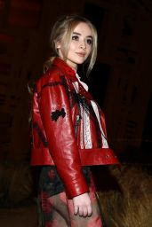 Sabrina Carpenter - Coach Fall/Winter 2017 Fashion Show in NYC 2/14/ 2017