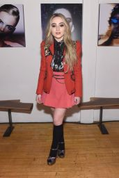 Sabrina Carpenter - Marc Jacobs Beauty Celebrates Kaia Gerber in New York 2/15/ 2017