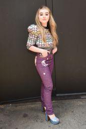 Sabrina Carpenter - Marc Jacobs Fall 2017 Fashion Show in NYC 2/16/ 2017