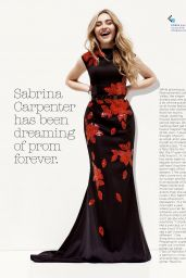 Sabrina Carpenter - Seventeen Prom Magazine - 2017 Issue