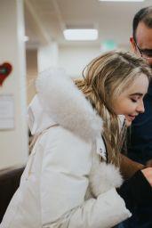 Sabrina Carpenter - Visits the Ronald McDonald House in Salt Lake City, UT 2/23/ 2017