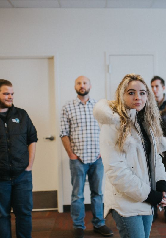 Sabrina Carpenter - Visits the Ronald McDonald House in Salt Lake City, UT 2/23/ 2017
