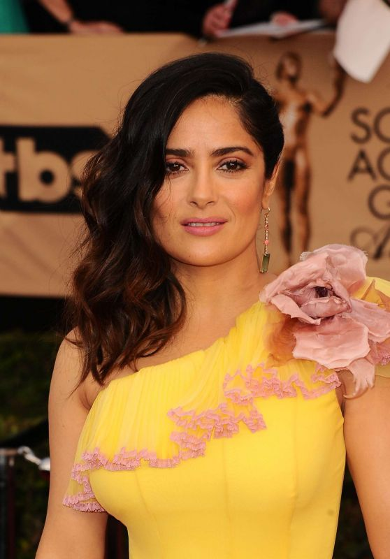 Salma Hayek - SAG Awards in Los Angeles 1/29/ 2017
