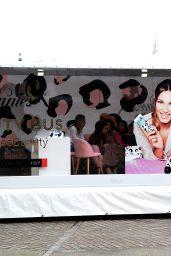 Sam & Billie Faiers - Minnies Beauty Bus Photocall in Berlin 2/7/ 2017