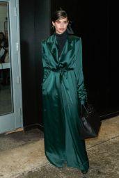 Sara Sampaio at New York Fashion Week - Leaving the Marchesa Show 2/15/ 2017