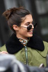 Sara Sampaio Urban Outfit -Milan, Italy 2/22/ 2017