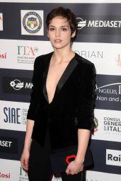 Sara Serraiocco – Italia Film Festival in Los Angeles 2/19/ 2017