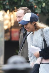 Sarah-Jane Crawford - Out in Covent Garden London 2/8/ 2017
