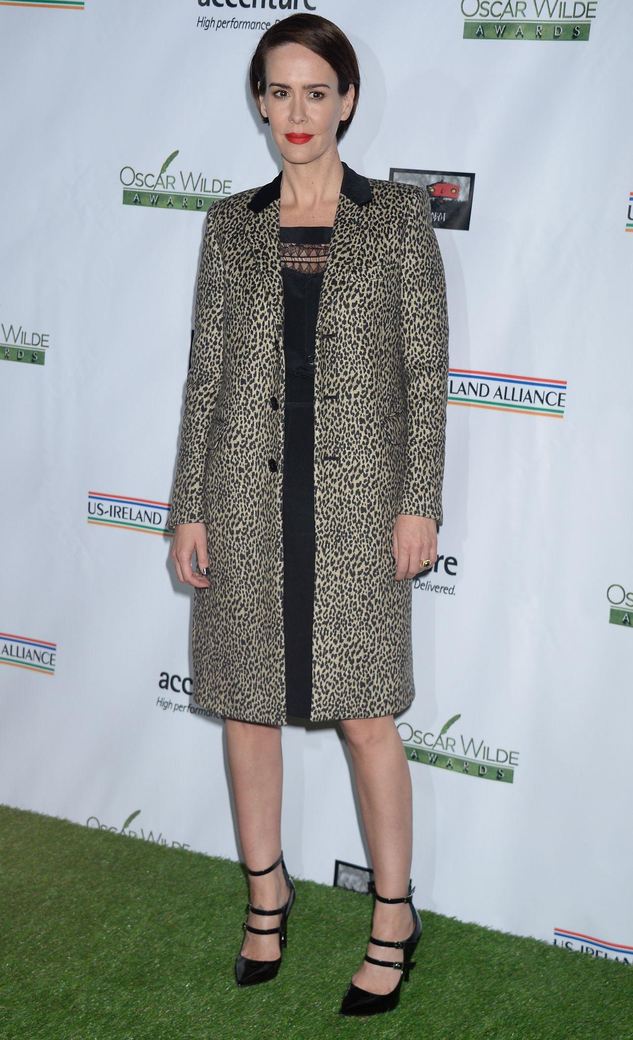 Sarah Paulson - 12th Annual Oscar Wilde Awards in Santa ...