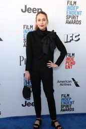 Sarah Sutherland – Independent Spirit Awards in Santa Monica 2/25/ 2017