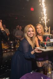 Sasha Pieterse - Celebrates Her 21st Birthday at Marquee Nightclub - Cosmopolitan of Las Vegas 2/17/ 2017