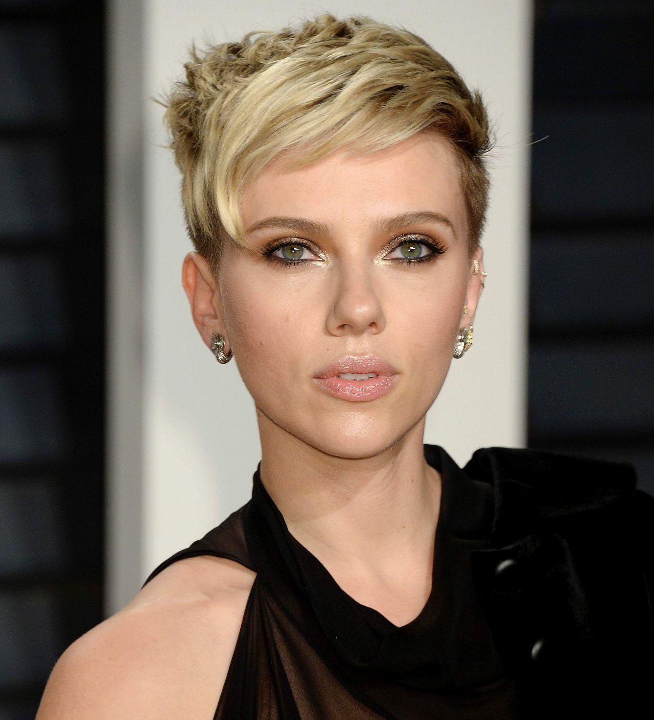 Scarlett Johansson at ...