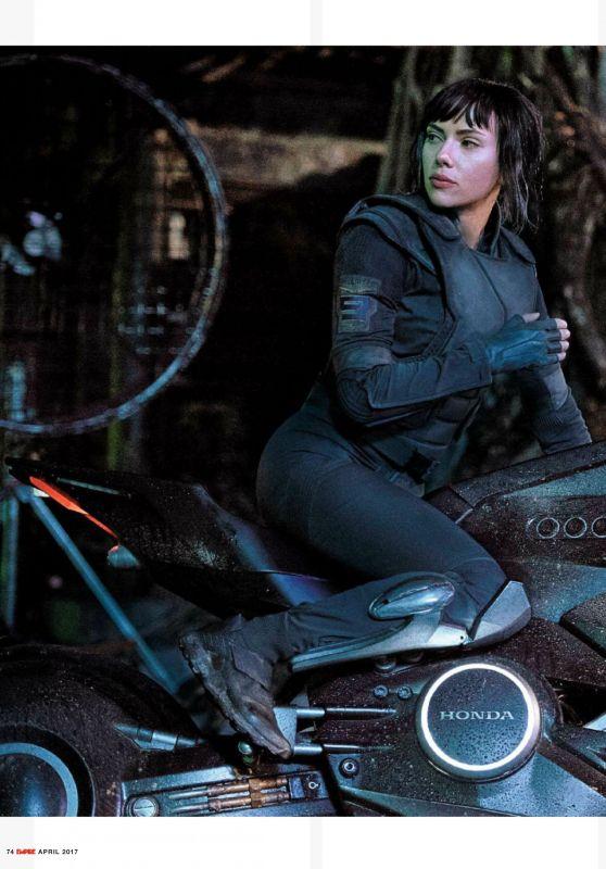 Scarlett Johansson - Empire Magazine UK April 2017 Issue