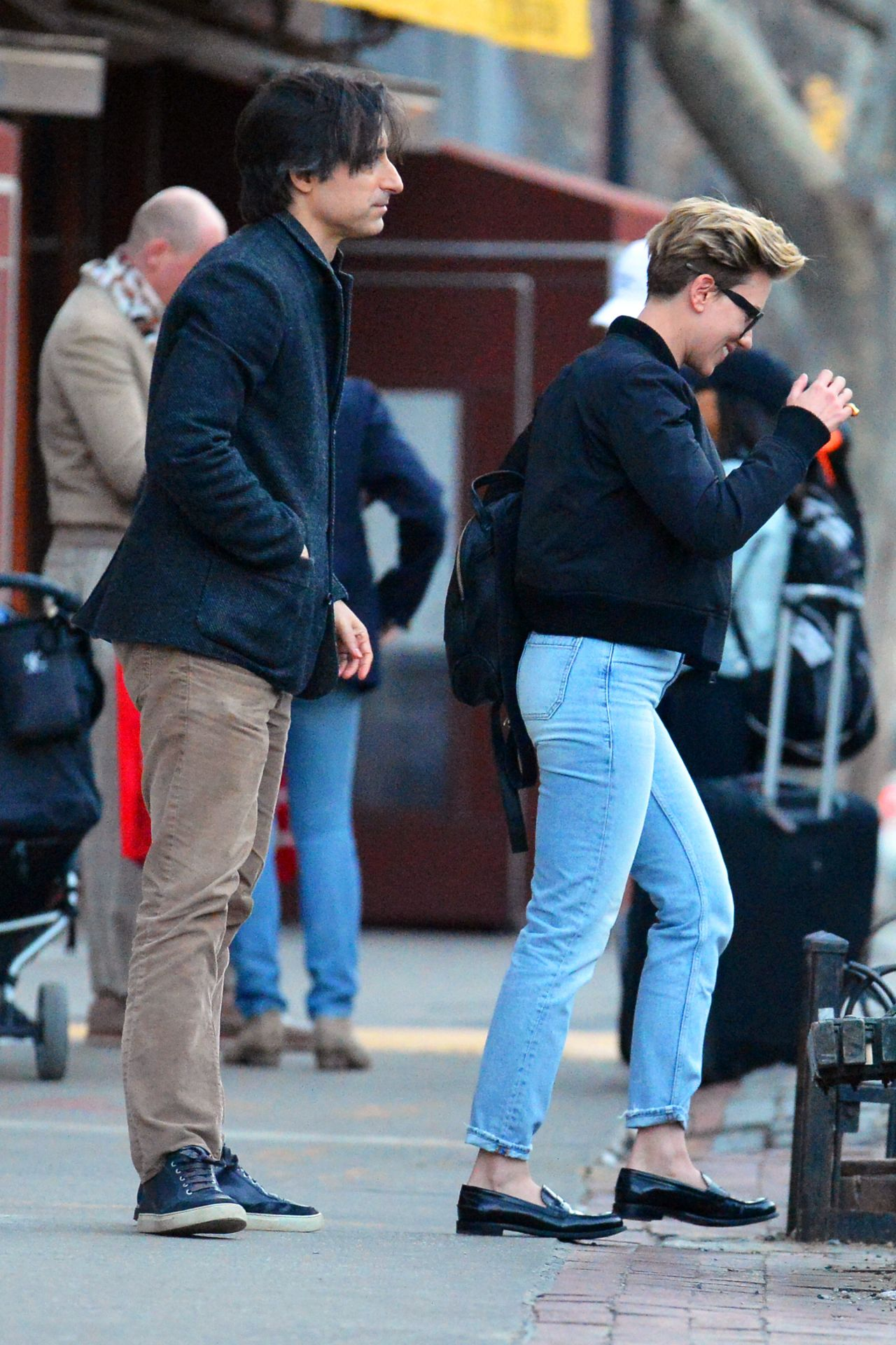 Scarlett Johansson In Jeans Out In New York 222 2017