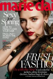 Scarlett Johansson - Marie Claire Magazine (US) March 2017 Cover and Pics