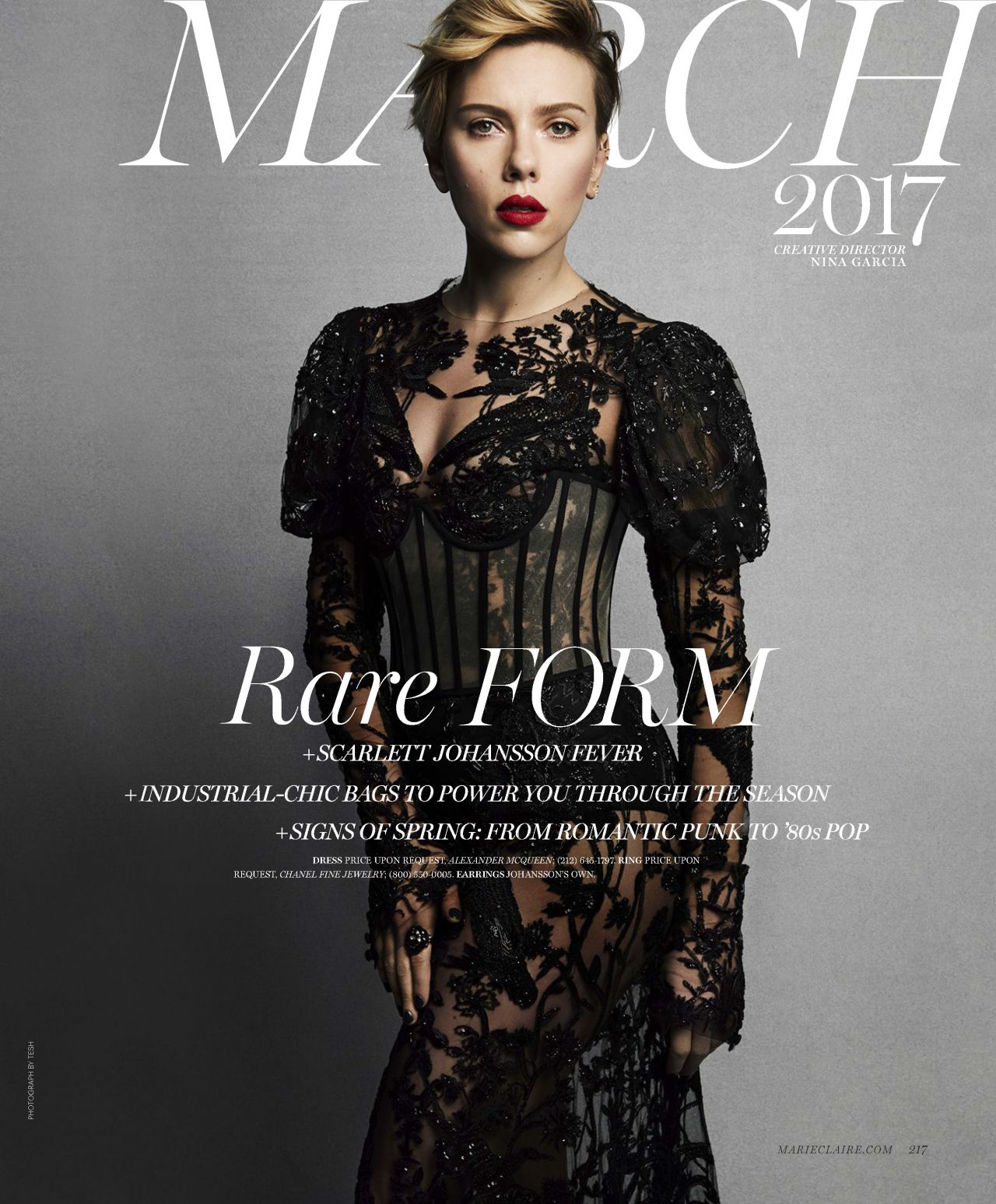 2017: Marie Claire (US) March 2017 Issue