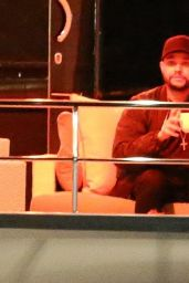 Selena Gomez and The Weeknd on a Yacht in Marina del Rey in LA 2/11/ 2017