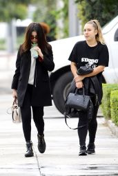Selena Gomez Casual Style - Out in Los Angeles 2/21/ 2017