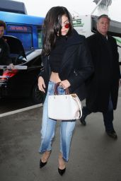 Selena Gomez - Departing on a Flight at LAX in Los Angeles 2/7/ 2017