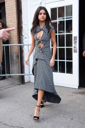 Selena Gomez - Leaving a Press Event For of Upcoming Netflix Series, 13 Reasons Why in NYC 2/8/2017