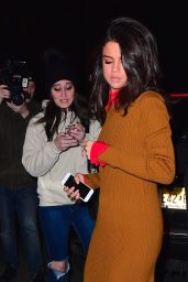 Selena Gomez Night Out Style - New York City 2/8/ 2017