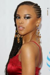 Serayah – 48th NAACP Image Awards in Los Angeles 2/11/ 2017