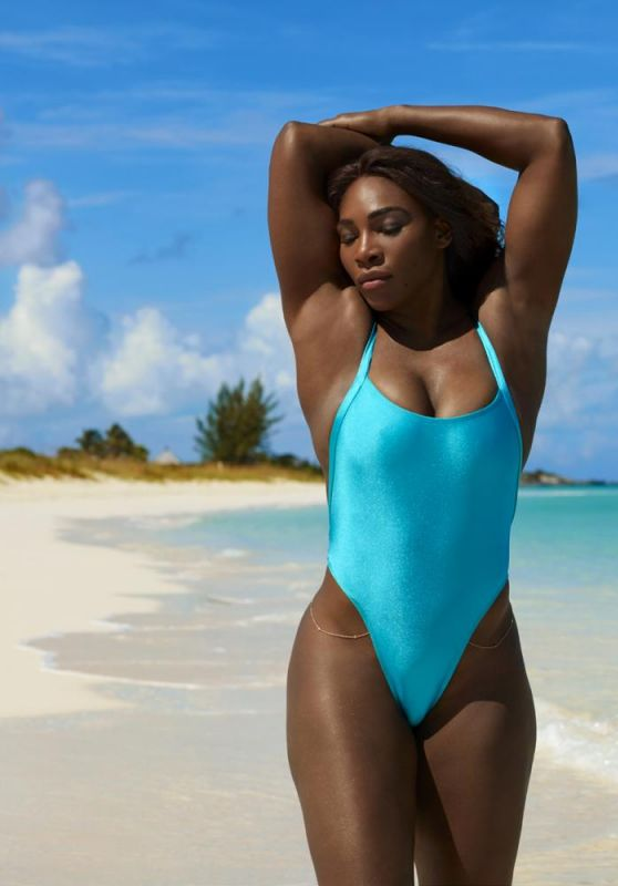 Serena Williams Bikini Photos – 2017 Sports Illustrated Swimsuit Issue