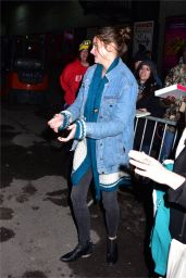Shailene Woodley - Leaving The Late Show With Stephen Colbert in NYC 2/13/ 2017
